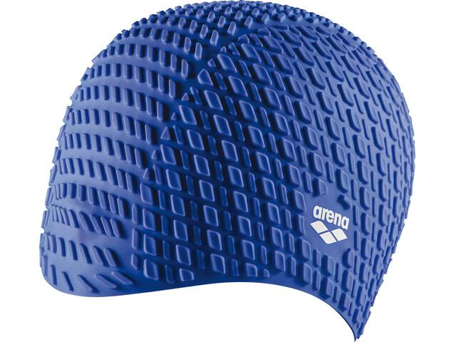 arena Bonnet Silicone Swimming Cap blue